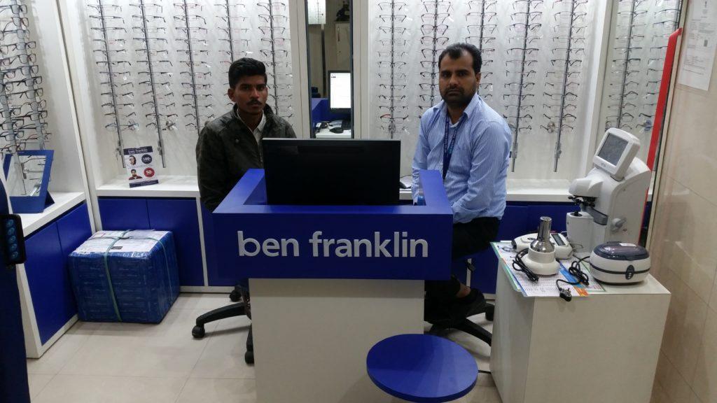 BEN FRANKLIN SPECTACLE ,GALSSES